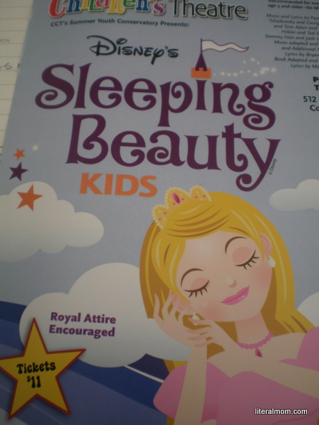 Columbus Children's Theatre Summer Production of Sleeping Beauty